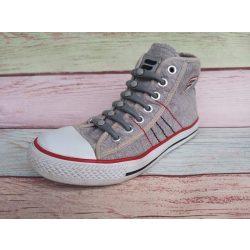 SPOT szilikonos cipőfűző szürke-szürke