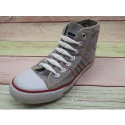 SPOT szilikonos cipőfűző fehér-fehér