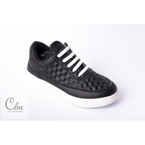 KID fehér szilikonos cipőfűző 10 db