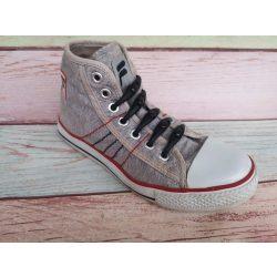 SPOT szilikonos cipőfűző fekete-fekete